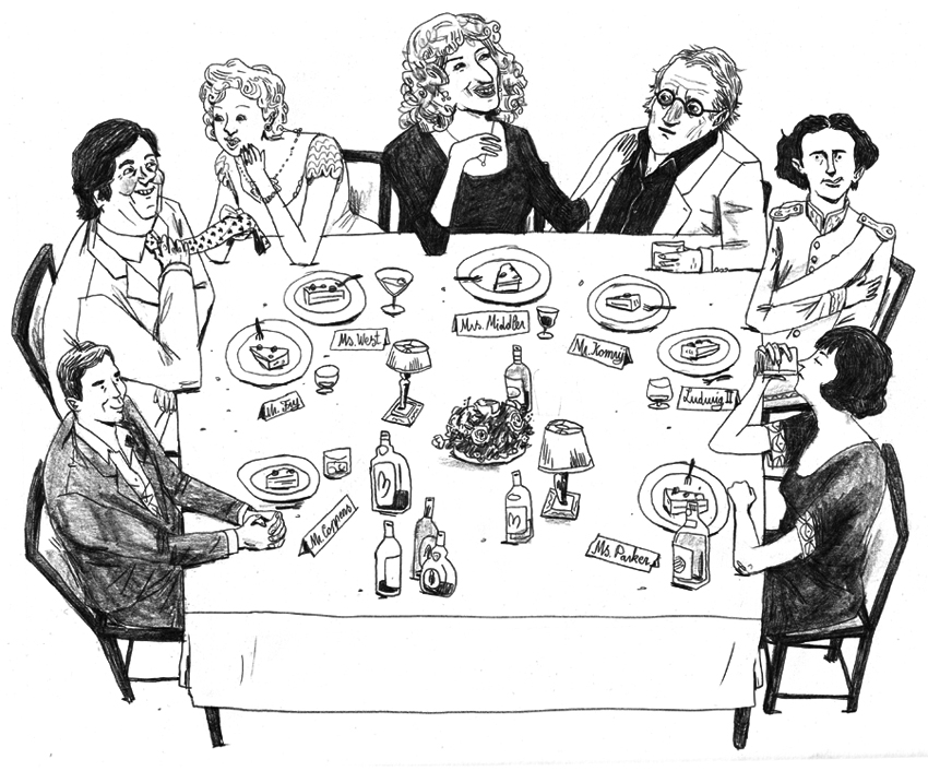 Dinner Invitations By Frederik Van Den Stock
