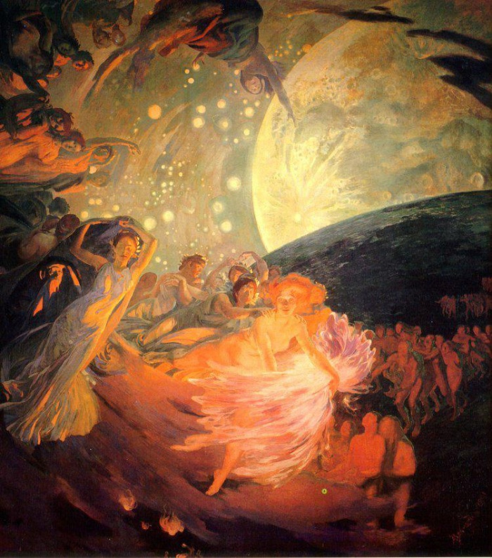 illustration from Paul Albert Besnard