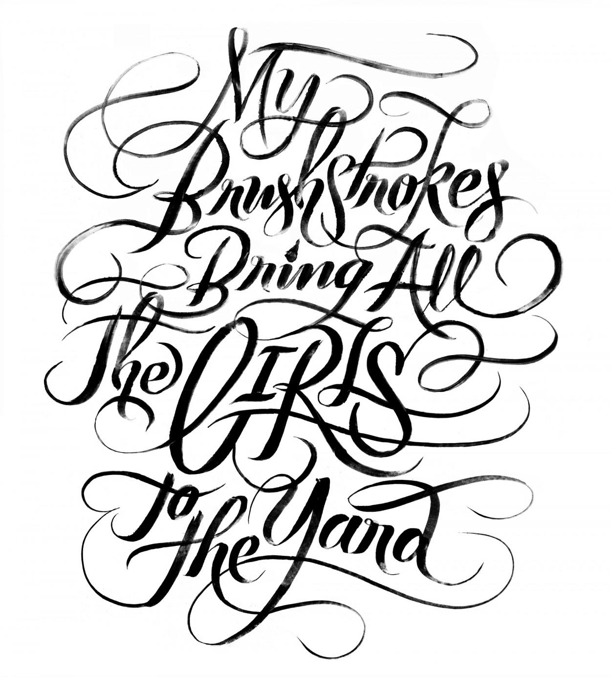amazing typography from erik marinovich illustration age