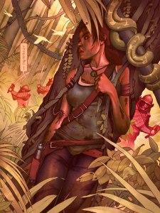 Chris B Murray, Tomb Raider