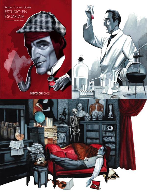 FernandoVicente Study in Scarlet