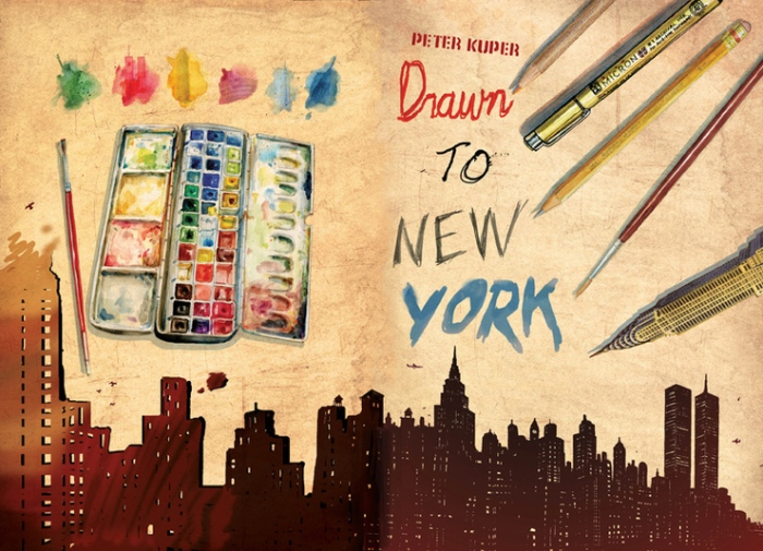 Peter Kuper Drawn to New York