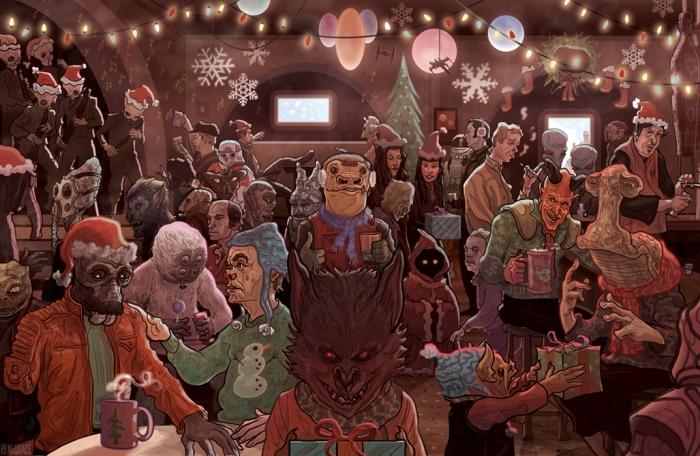 mos-eisley-cantina-scene-star-wars-christmas-card-pj-mcquade