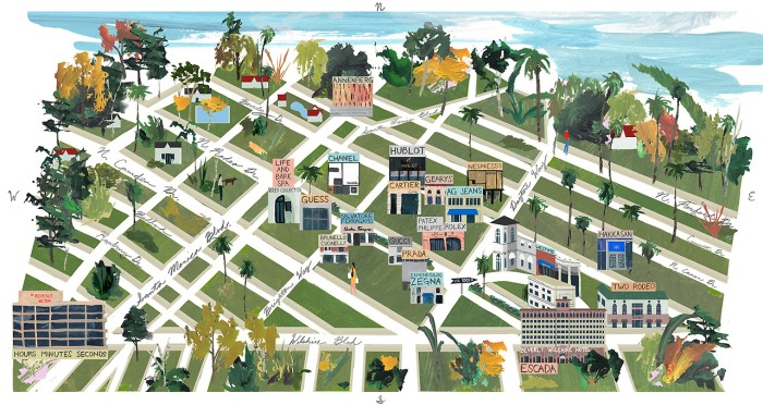 Jon Han s Illustrated Map of Beverly Hills