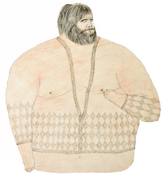 TinaSiudaHairySweater