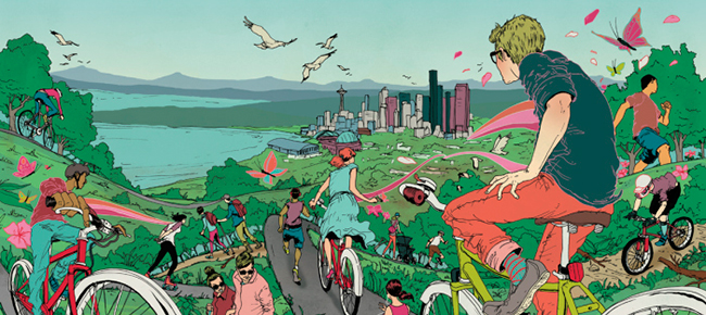 City Trails for Seattle Met by Michael Byers