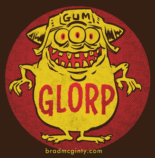 Brad McGinty glorp-shirt
