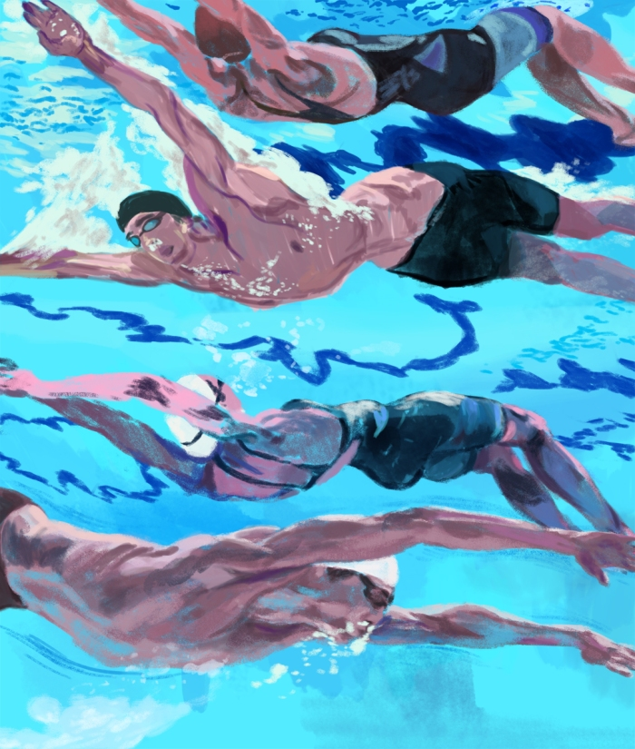 Ciaran Murphy Swimming