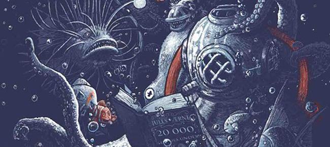 Looooong Illustration by Georges le Mercenaire