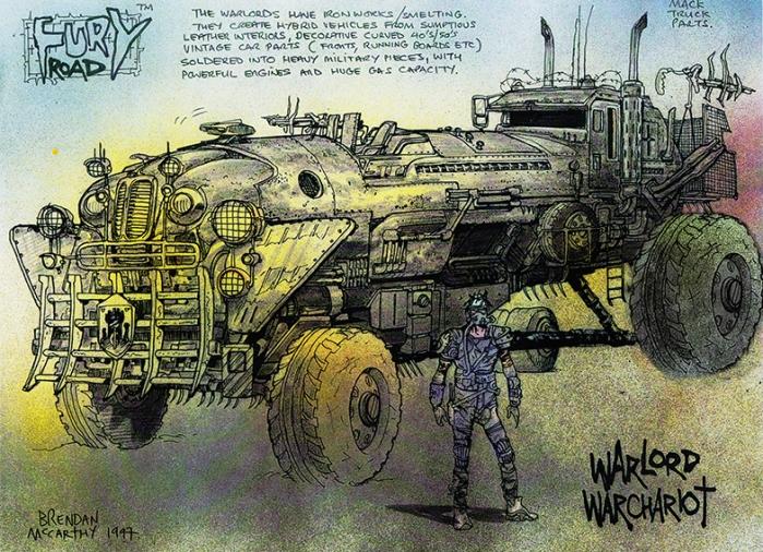 MMFR-chariot