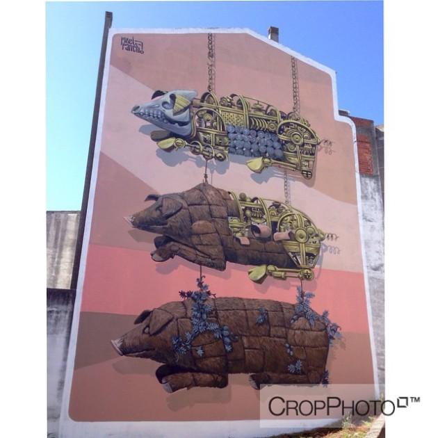 mural, wallpainting, graffiti