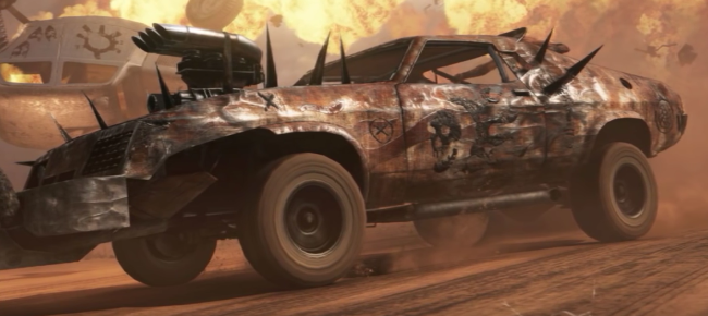 Mad Max Video Game Concept Art