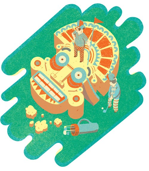 inca_golf_illustration