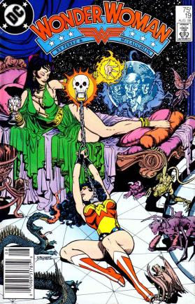george perez. wonder woman. #. 019. cover. 001