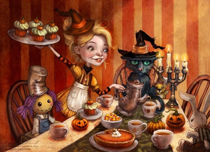 Ivory Strange's Halloween Tea Party