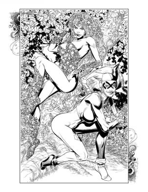 2009 - Poison Ivy - Harley Quinn