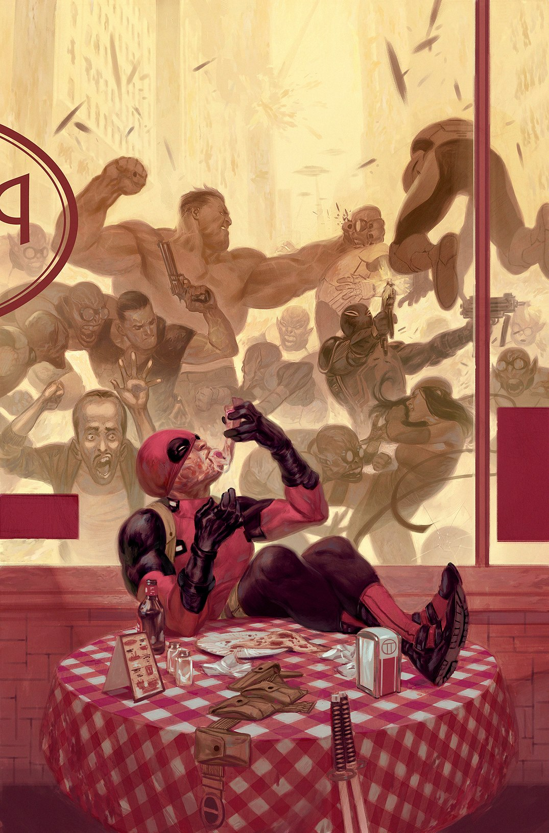 Comics Illustrator Of The Week Julian Totino Tedesco