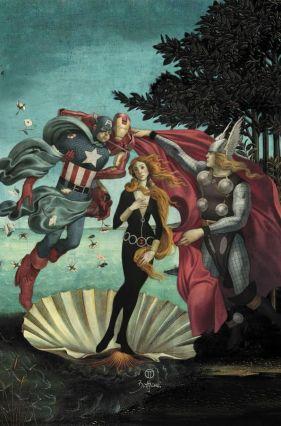 Julian-Totino-Tedesco-Boticelli-Avengers-674x1024