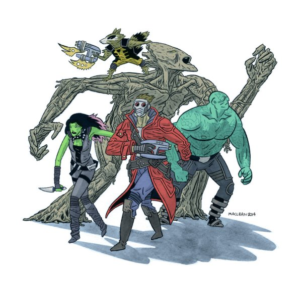 guardians_of_the_galaxy_by_andrew_ross_maclean-d7t8r7q