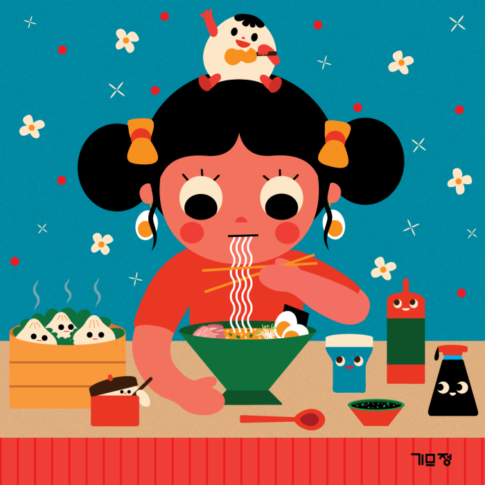 Eating-Ramenwithfriend_Uijung-Kim_1200