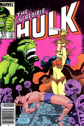 The_Incredible_Hulk_311_cover_and_interior_art