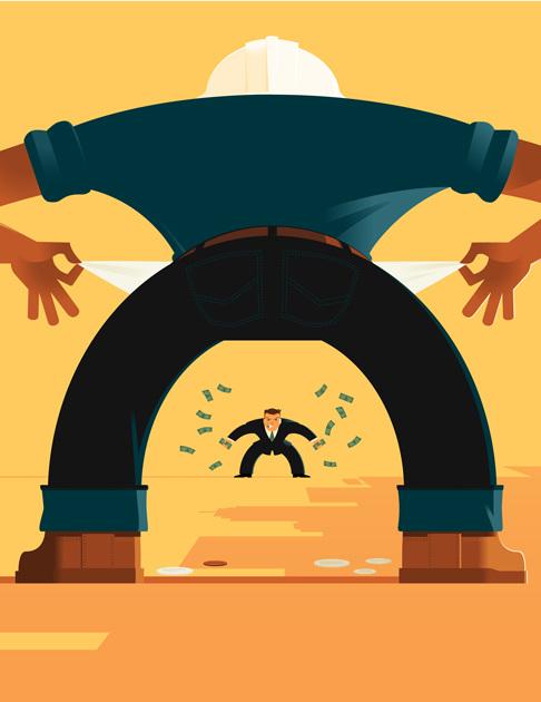 Income Inequality Standoff