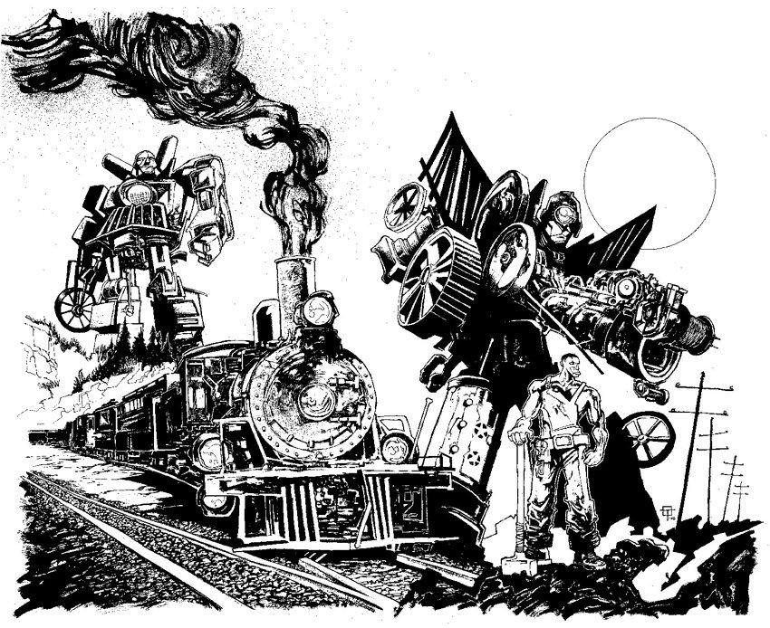 Comics Illustrator of the Week: Ted McKeever | ILLUSTRATION AGE