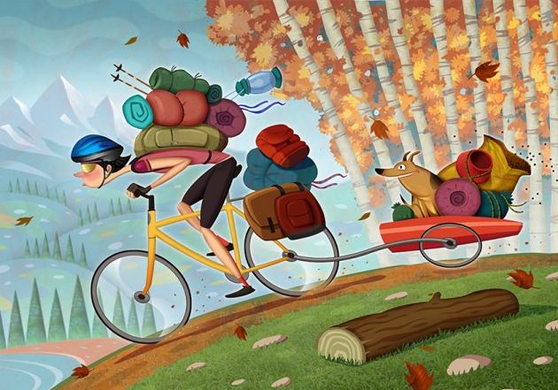 bicycle rider girl