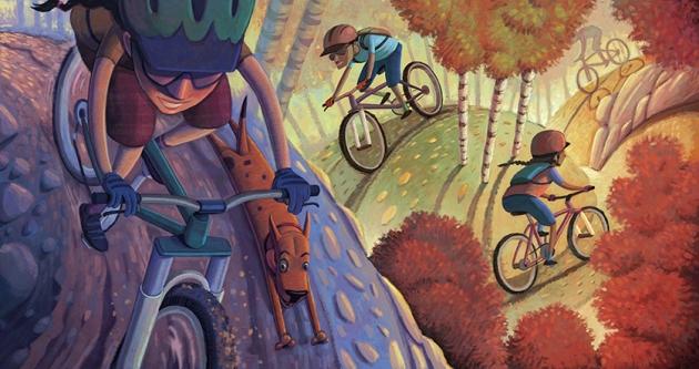 mountain-bikers