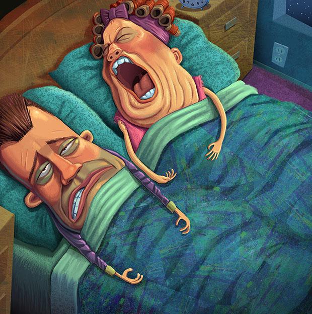 snoring-wife