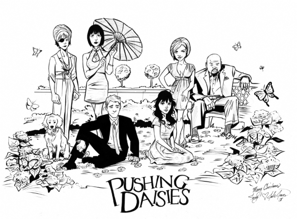 pushing daisies web