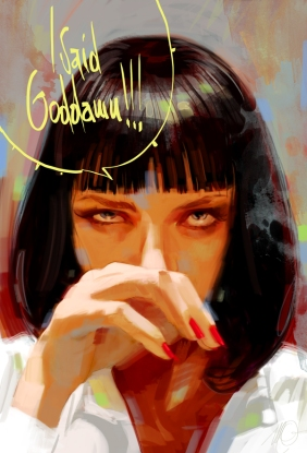 Pulp Fiction by Massimo Carnevale
