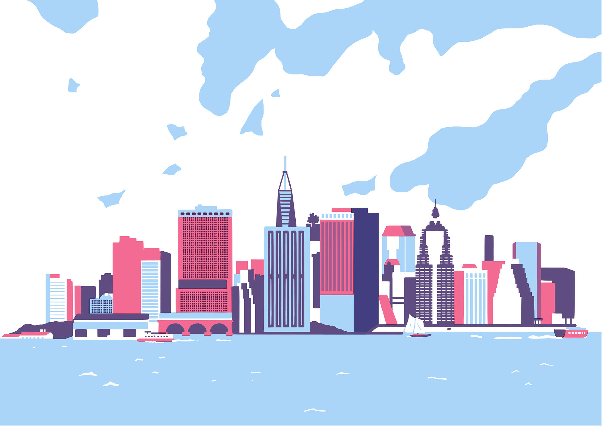 Souvent New York Illustrations by Fausto Montanari | ILLUSTRATION AGE PQ59