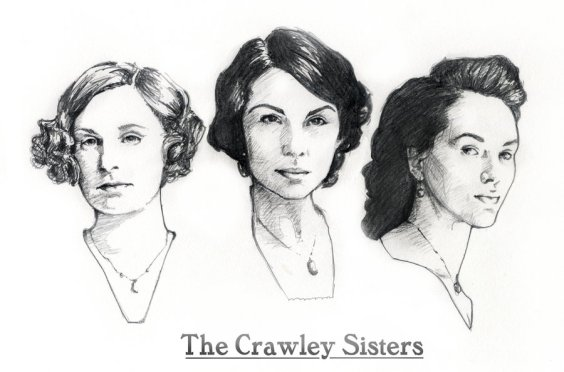 the_crawley_sisters_of_downton_abbey_by_allisonsohn-d4qjsqi