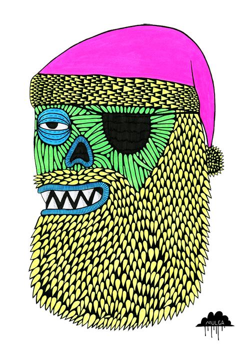 mulga-the-artist-zombie-santa