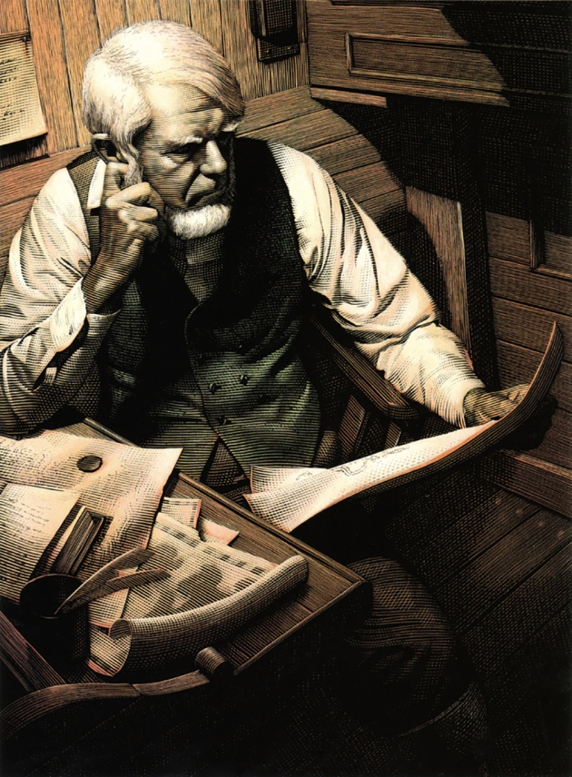 mark-summers-109-moby-dick-captain-ahab