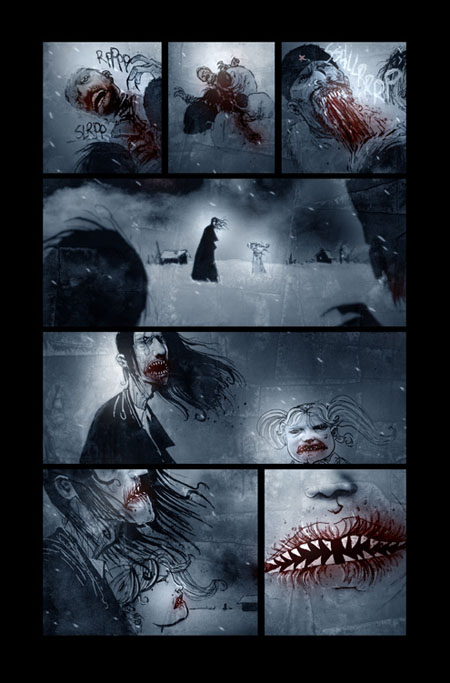 Comics Illustrator of the Week: Ben Templesmith ...