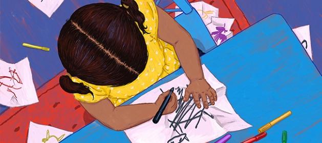 Editorial-illustration-children-art-school-drawing