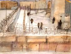 Berlin Wall. 1964