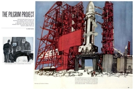 The Pilgrim Project. Saturday Evening Post. April 11th, 1964