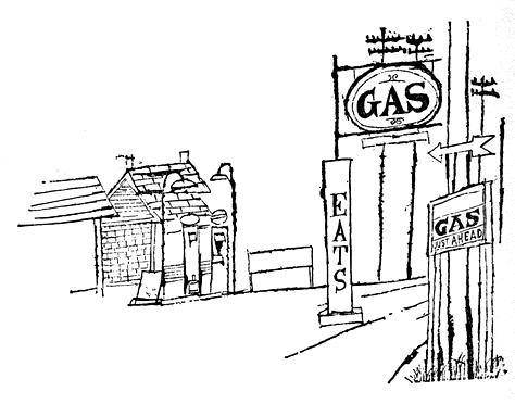 Shahn_GasStation