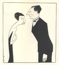 Fay Bainter and Walter Huston in Dodsworth.