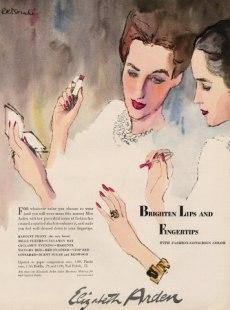 Bouche Elizabeth Arden ad